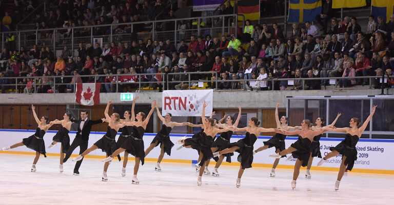 ISU World Junior Synchronized Skating Championships in Neuchâtel